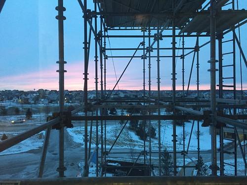 verona wisconsin sunrise scaffolding construction