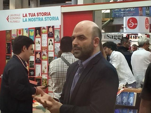 Roberto Saviano à Turin