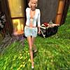 Prism Renee Seersucker Skirt Set by Jezzixa TEAL