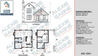 Plan de maison 2 étages - MM2e.05