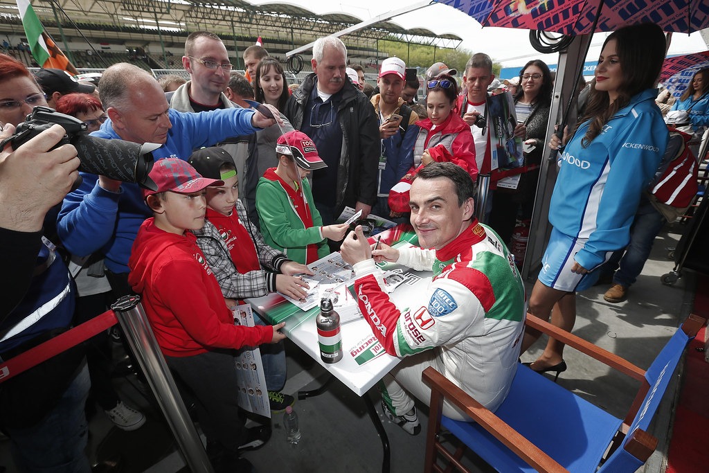 MICHELISZ Norbert (hun), Honda Civic team Castrol Honda WTC, ambiance portrait during the 2017 FIA WTCC World Touring Car Race of Hungary at hungaroring, Budapest from may 12 to 14 - Photo Jean Michel Le Meur / DPPI
