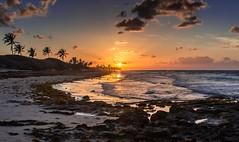 Sunset at Playas del Este