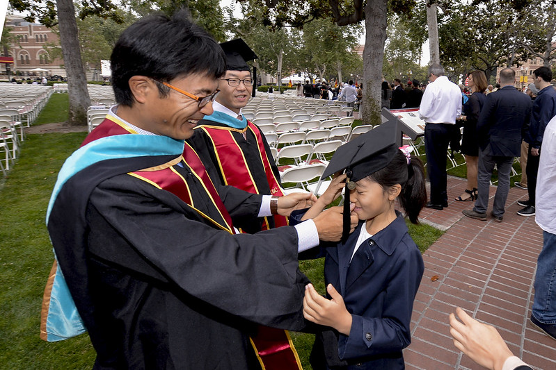 USC Commencement Ceremony 2017