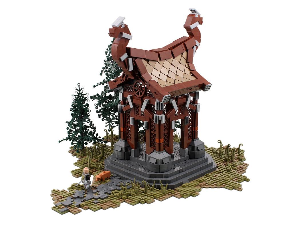 Nord Wayshrine 1 (Elder Scrolls Online) (custom built Lego model)