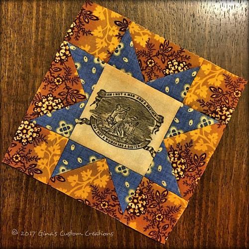 Peace & Healing Block of the Week: Block 23 - Sawtooth Star