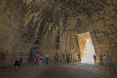 Treasury of Atreus Interior, Mycenae