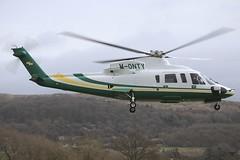 M-ONTY Sikorsky S-76C Cheltenham (EGBC) 17Mar2017