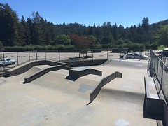 Jim Keeffe Skate Park pyramids