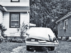 Peekskill Meteorite Car_1992