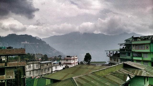Namchi  , Sikkim. #mobilephotography #mountain #sikkim #namchi #cloud #hiking #nature #landscapephotography #teagarden #temple #chardham