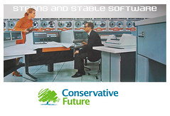 Strong and stable software Conservative poster