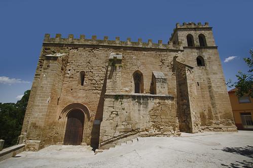Iglesia amurallada de San Juan Bautista, Fabara