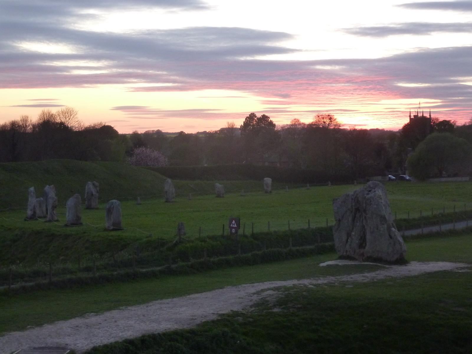 Avebury at Sunset