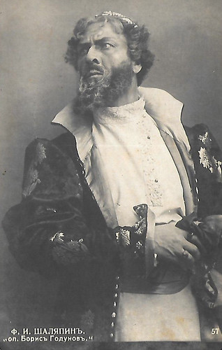 Feodor Chaliapin as Boris Godunov