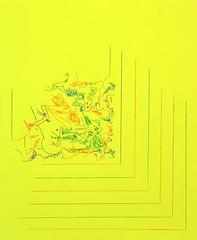 Xtropolis no.2, coloured pencil on paper.   28 x 22. 2016.  Acquire: gallery@artplacement.com   More info (link in bio): http://www.artplacement.com/gallery/artists_results_bycat.php?lastname=Vaughn&cat=contemporary ________________________________