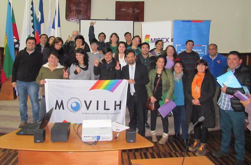 Gobierno y Movilh impulsan diálogos ciudadanos sobre matrimonio igualitario / @Movilh 2017