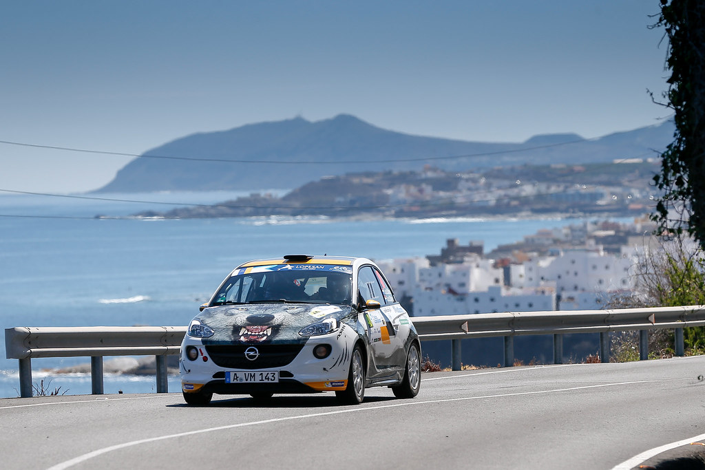 40 VAN DE R MAREL Timo (NLD), NA DER MAREL Rebecca (NLD), OPEL ADAM R2, Action during the 2017 European Rally Championship ERC Rally Islas Canarias, El Corte Inglés,  from May 4 to 6, at Las Palmas, Spain - Photo Alexandre Guillaumot / DPPI