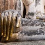 Image of Wat Si Chum near Ban Na. buddha sukhothai temple thailand thai unescoworldheritagesite unescoworldheritage watsrichum watsichum