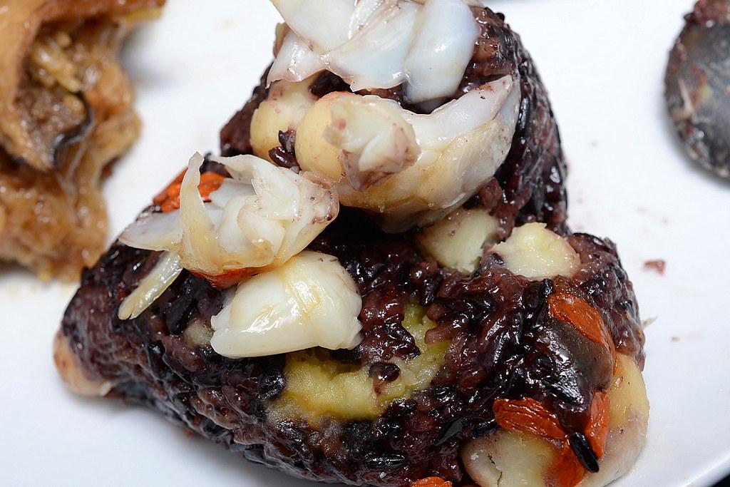 西華飯店 - 百合流沙紫米粽