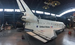Air and Space Museum annex at Dulles International Airport