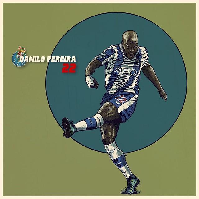 Danilo Pereira, FCPorto's Most Valuable Player of the 16/17 season, a tribute @autodesksketchbook @autodesk_sketchbook @autodesk @pixlr @sketchbookapp @pixlr @shift_by_pixite @iamdanilopereira @overappofficial @fcporto @superdragoes1986 #illustration #ill