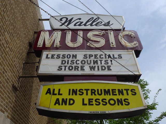 the day the music died (former home of Walles Music)