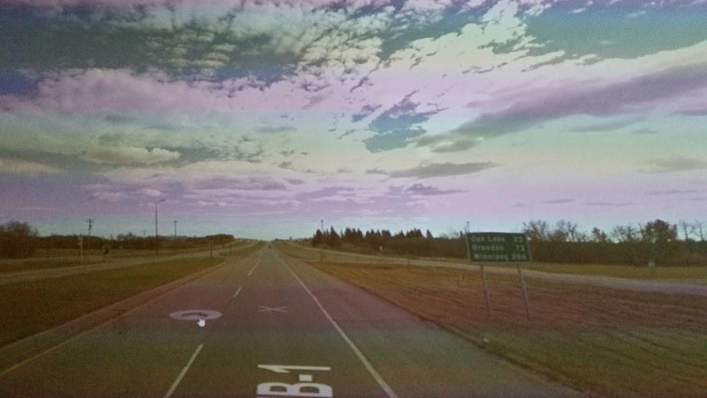 73 km to Brandon, Manitoba. #ridingthroughwalls #xcanadabikeride through #googlestreetview