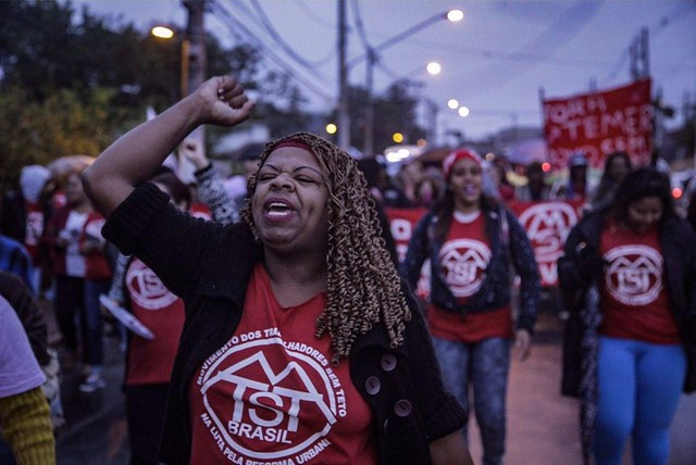 """""""Polícia confunde manifestação com crime"""", diz advogado do MTST; 16 são detidos em SP"""