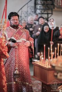 Литургия в Хутынском монастыре 300