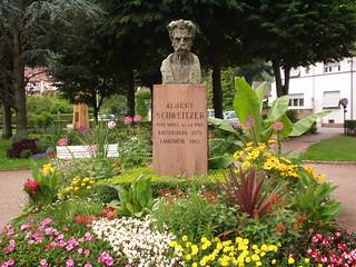 Albert Schweitzer Denkmal