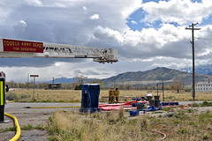 2017 - TEAD Fire Department exercise with National Guard - 24APR