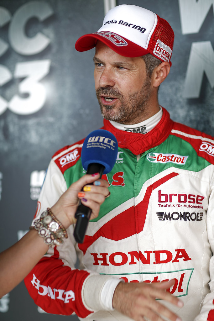 MONTEIRO Tiago (prt), Honda Civic team Castrol Honda WTC, ambiance portrait   during the 2017 FIA WTCC World Touring Car Race of Hungary at hungaroring, Budapest from may 12 to 14 - Photo Frederic Le Floc'h / DPPI