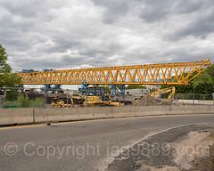 New Roadway Deck Section of the Bayonne Bridge, Port Richmond, Staten Island, New York City