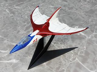 EX合金 《科學小飛俠》G-1號/G-2號/空中大鯊魚座機「重繪版本」【再次販售!】科学忍者隊ガッチャマン G-1号/G-2号/レッドインパルス号 リペイントver.)