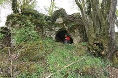 Petite Grotte des Chaudottes - Vriange - Jura  (inedit)