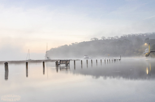 wales cymru landscape reflections flood wideangle dawn winter longexposure slowshutter seaandsky coast estuary atmospheric boats