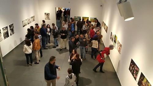 Inauguración de la exposición de fotografías del colectivo Fotoquinto en La Almona