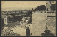 Montéléger (Drôme) - Vue prise du château