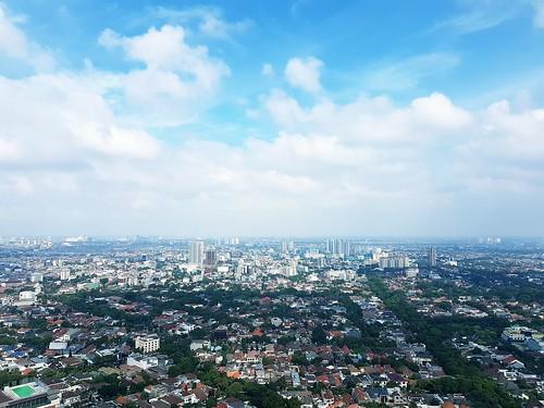 jakarta outskirt indonesia cities birdview landscape