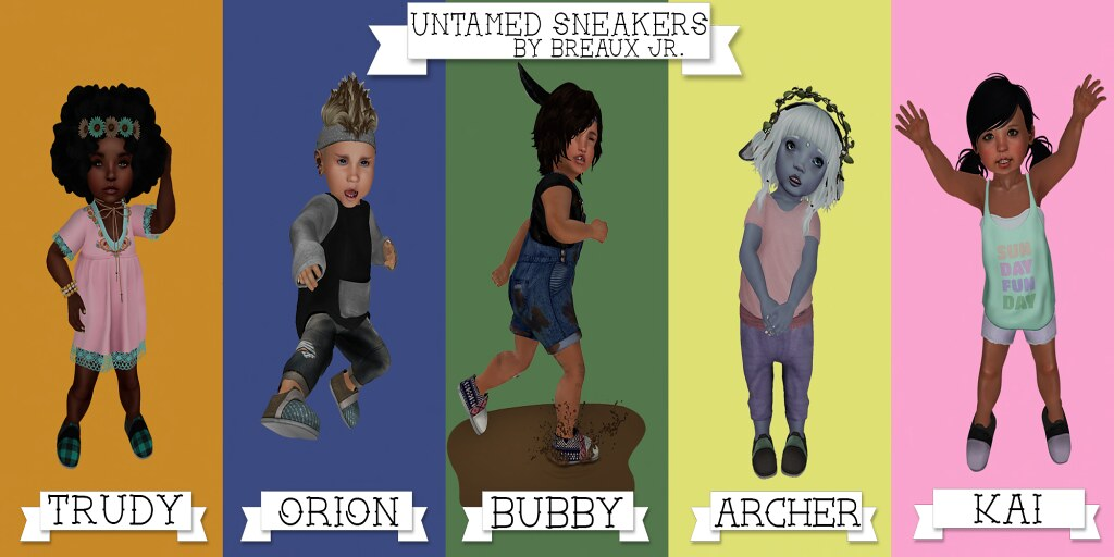 Untamed Sneakers Poster - SecondLifeHub.com