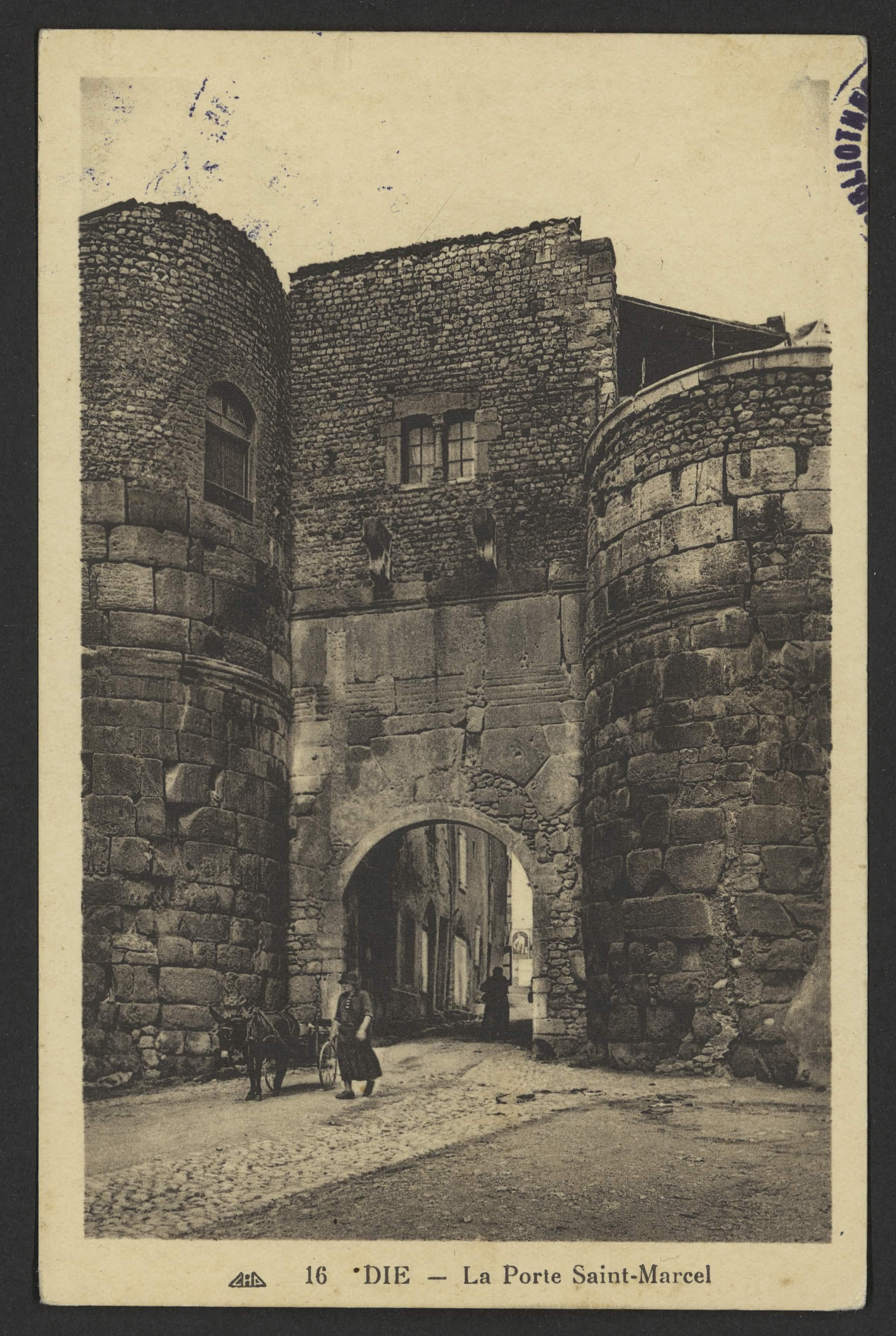Die - La Porte Saint-Marcel