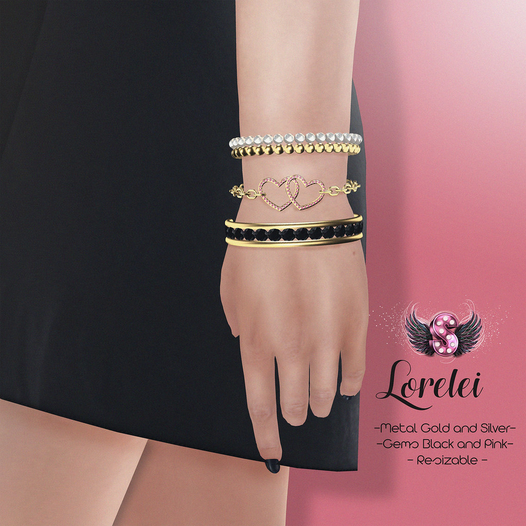.::Supernatural::. Lorelei Bracelet @ Limit8 - SecondLifeHub.com