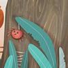 {ITA} Foglie mangiucchiate e ragnetti sorridenti che sembrano granchi. Non sono per niente amica dei ragni, ma adoro alla follia questo particolare. ️:heart:️:blush: . . {ENG} I know, this smiling spider looks like a crab! :joy: but I love this detail! ️: