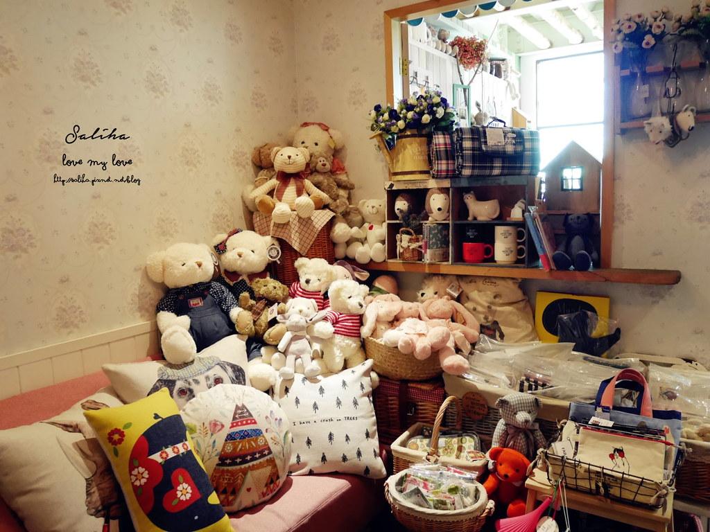 台中北屯區不限時咖啡下午茶餐廳推薦buka這一隻熊餐點 (1)