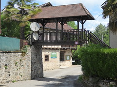 Entrance to Camping des Isles - Photo of Cornac