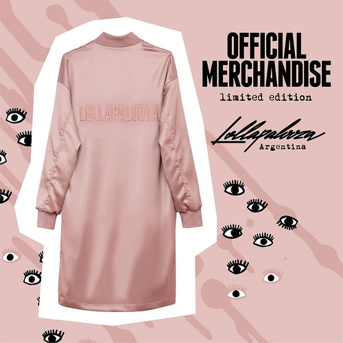 Lolla Merch 2017 - Campera rosa