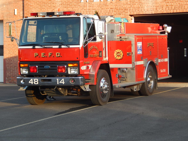 Port Ewen Fire Dept Ford Cargo Rescue 1 (48-14)