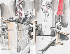 Two acters in the play Judgement at Nuremberg