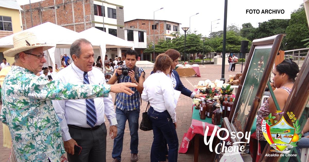 Alcaldía de Chone y MIPRO realizarán feria artesanal