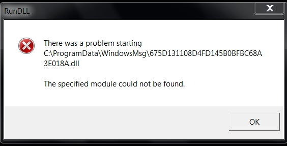 Hướng dẫn sửa lỗi C:\Program\WindowsMsg\ - Cách khắc phục lỗi RunDll C:\Program\WindowsMsg\
